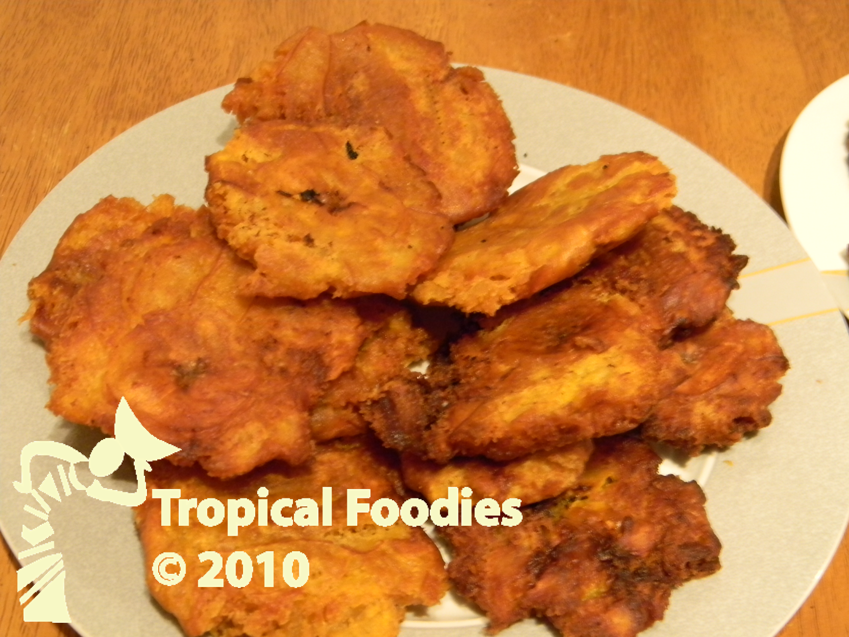 Pressed Double Fried Plantains Because You Are Worth It Tropical Foodies
