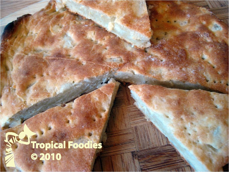 yuca bread sweet savory doughy treat tropical foodies